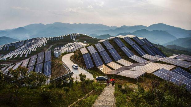 solar plant china